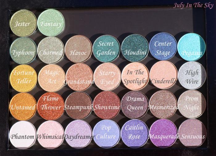blog beauté fard makeup geek eyeshadow foiled pressed duochrome avis test z palette