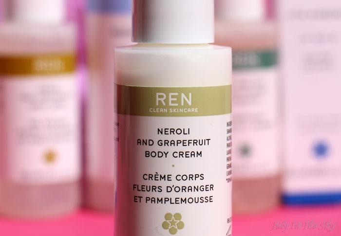 blog beauté ren skincare trousse grab & go creme corps Néroli et Pamplemousse