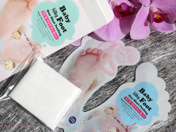 blog beauté holika holika baby silky foot one shot peeling