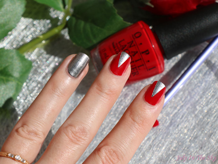 blog beauté nail art saint valentin