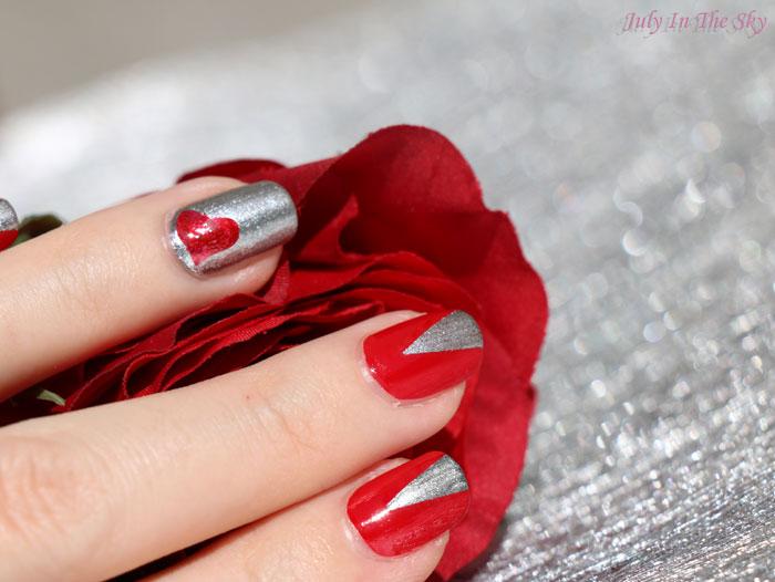 blog beauté nail art saint valentin