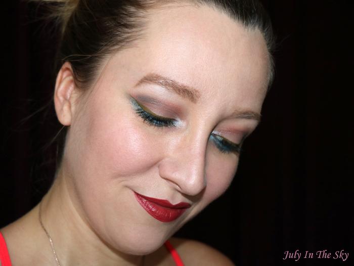 July In The Sky : blog beauté une beauty rouge ideal m20 avis swatch