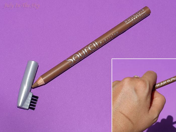 blog beauté routine sourcils blonds crayon precision bourjois