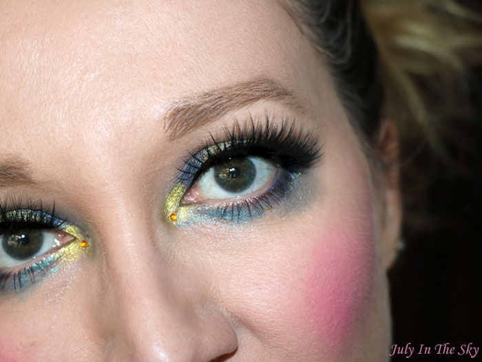 blog beauté monday shadow challenge navy manga make-up artistique