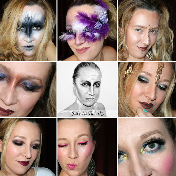 blog beauté monday shadow challenge make-up artistique retrospective