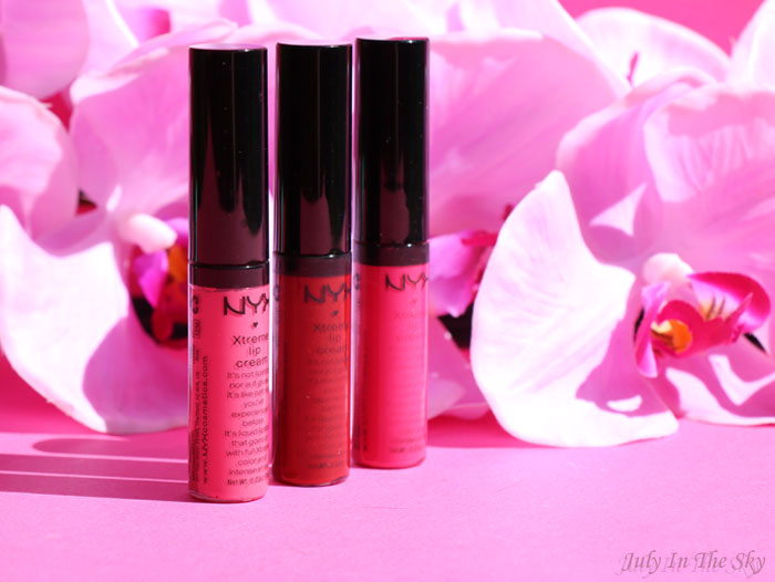 blog beauté nyx xtreme lip cream