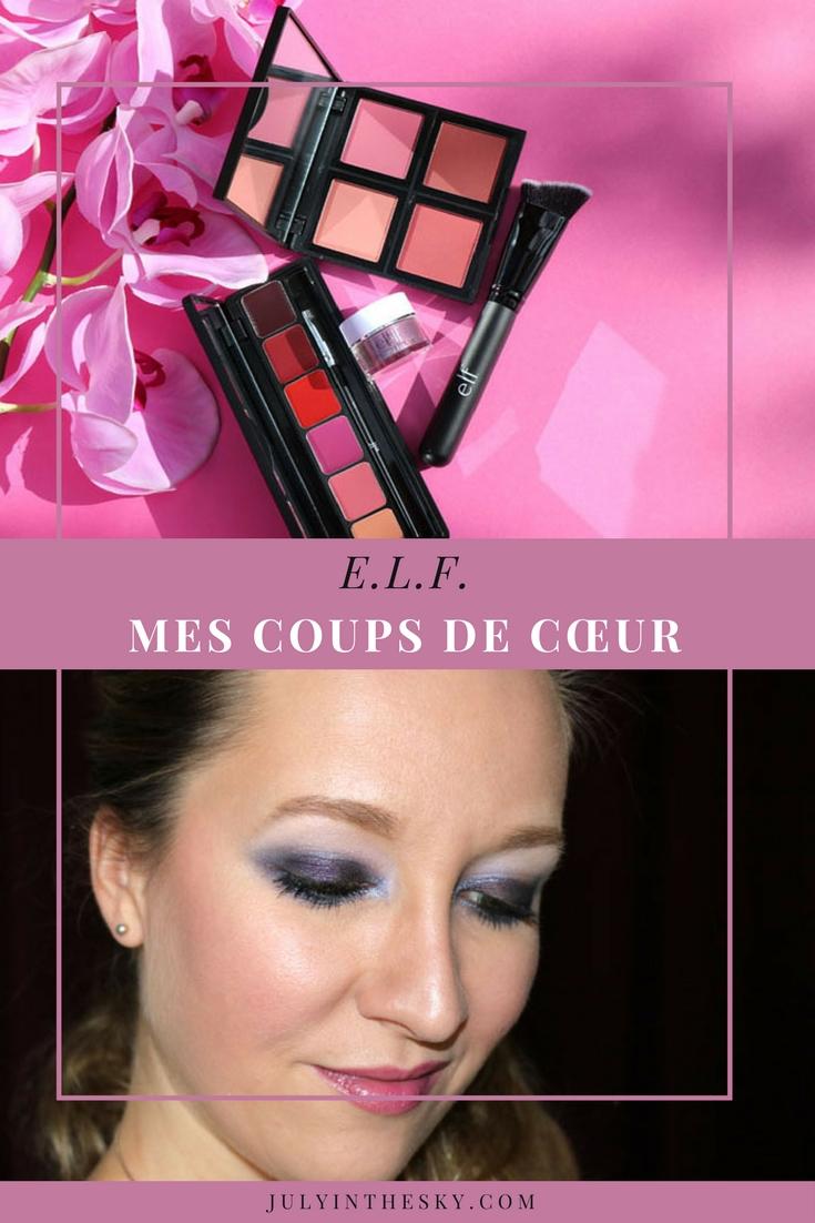 blog beauté elf eyes lips face avis