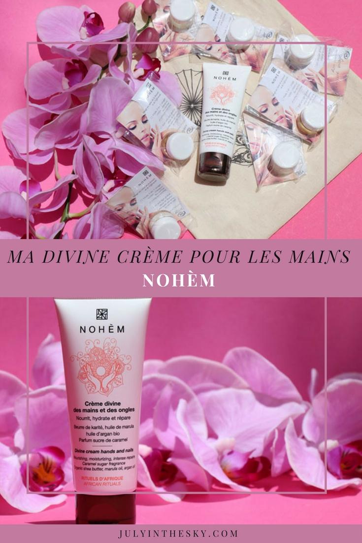 blog beauté nohem crème divine main affrique avis