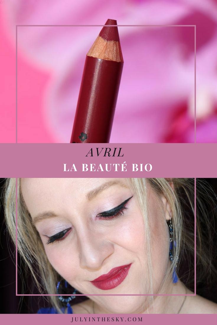 blog beauté crayon lèvres avril azaé pur