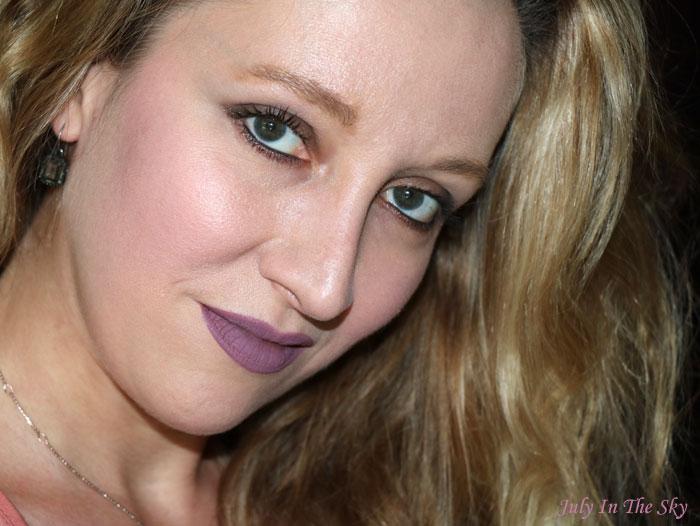 blog beauté hydra matte liquid lipstick gerard cosmetics ecstasy swatch