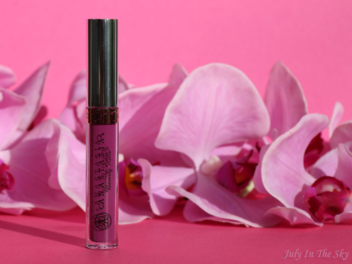 blog beauté anastasia beverly hills liquid lipstick avis swatch vintage