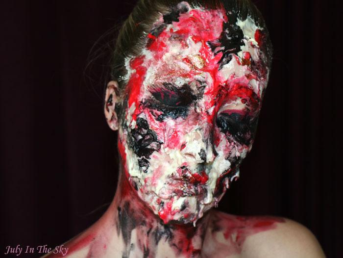 blog beauté art&freak show bloody alien maquillage artistique sfx