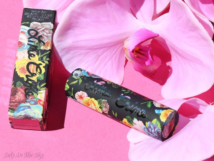blog beauté lime crime perlees charmed