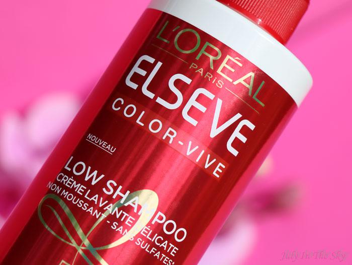 Le Low Shampoo Elseve Color Vive de L'Oréal, mon avis