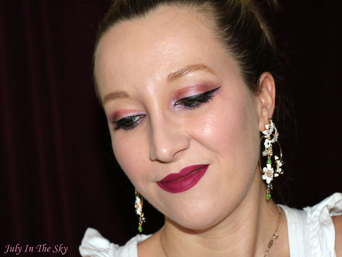 blog beauté lime crime velvetines matte metallic beet it