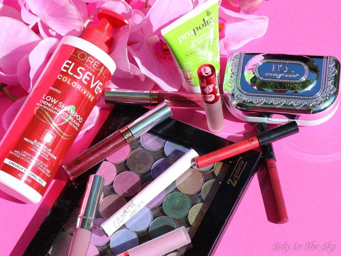 blog beauté favoris automne lime crime colour pop anastasia beverly hills propolia avril makeuo geek house of lashes elseve