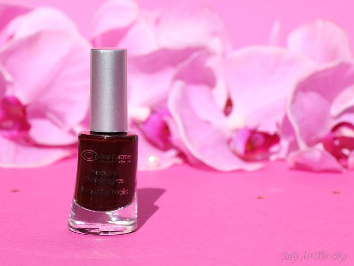 blog beauté monde bio box soirées de fin d'année couleur caramel vernis ongles hortensia