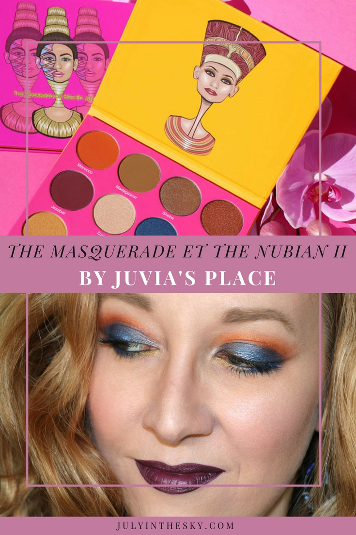 blog beauté juvias place the masquerade the nubian 2 avis swatch