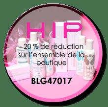 blog beauté partenariat HIP code réduction