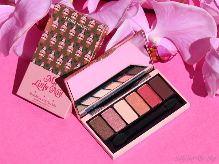 blog beauté  etude house my little nut fantastic color eyes