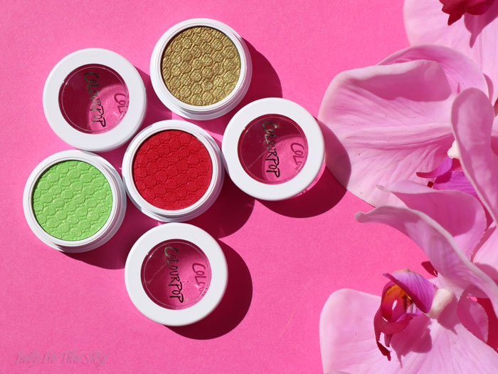 blog beauté Colourpop super shock telepathy fizz baby talk