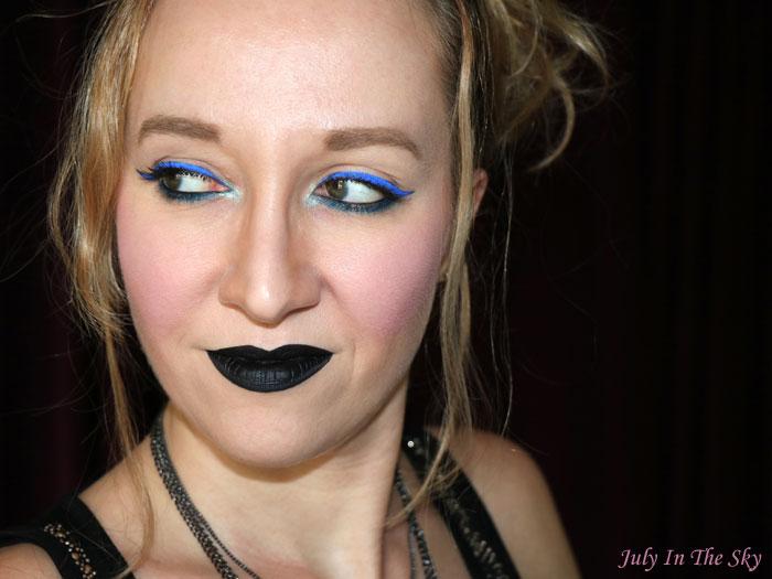 blog beauté nyx vivid brights liner sapphire