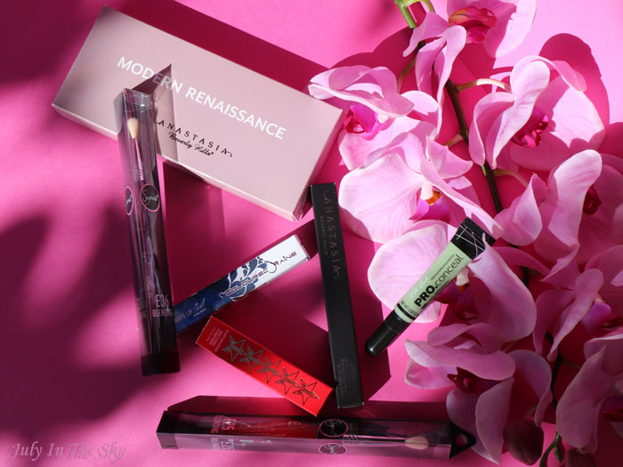 blog beauté Beauty Bay Anastasia Beverly Hils Jeffree Star Coloured Rain LA Girl Sigma