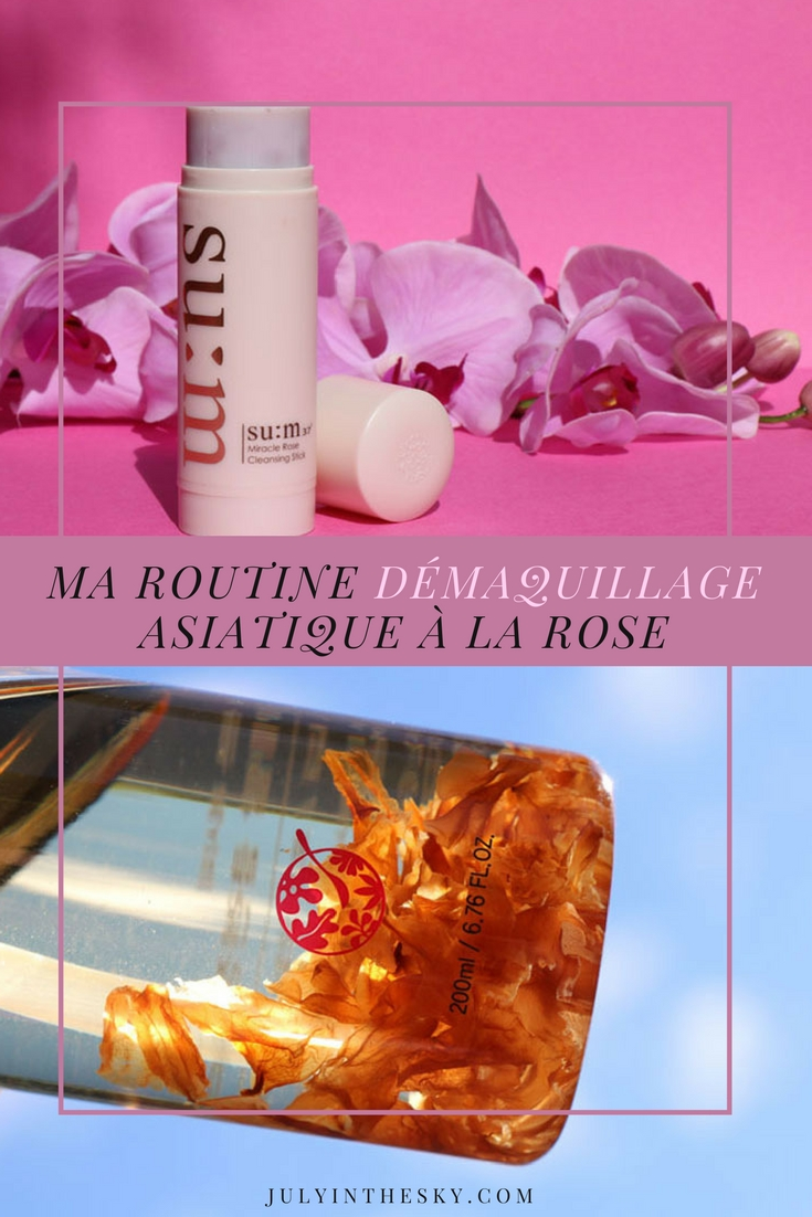 blog beauté miracle rose cleansing stick su:m37 kbeauty recipe clarange démaquillage routine