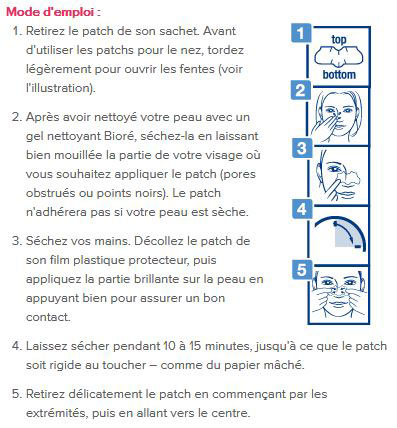 blog beauté bioré patchs purifiants solutions boutons