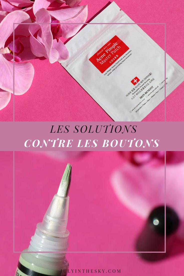 blog beauté boutons solution cosrx acne pimple master patch la girl hd pro conceal vert