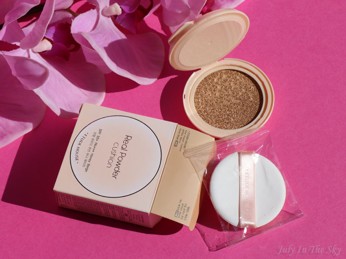 blog beauté etude house q-depot real powder cushion