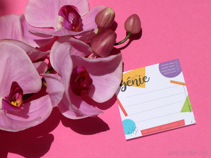 blog beauté organisation bloguer Les Blog' Notes Idée de Génie Post-It