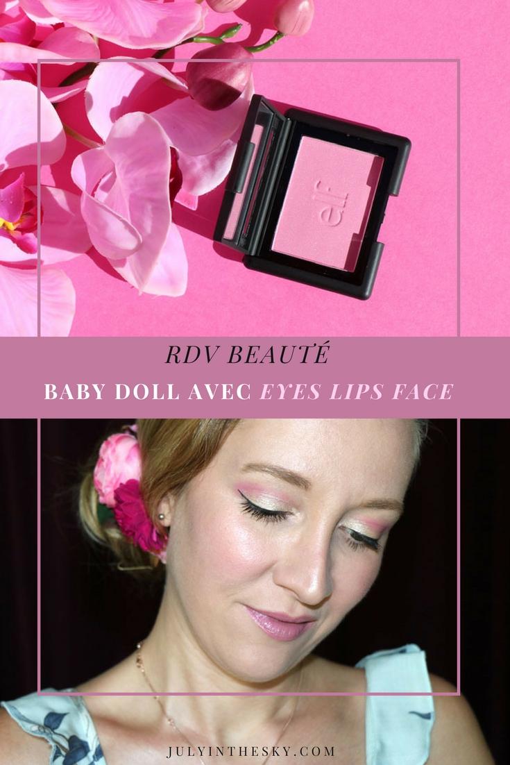 blog beauté RDV Beauté Sweet Baby Doll E.L.F. Fuchsia Fusionc