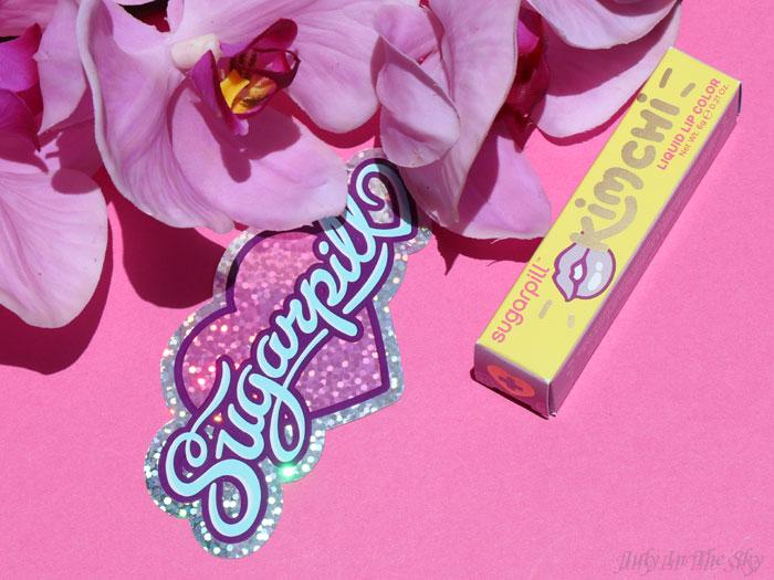 blog beauté sugarpill liquid lip color kim chi