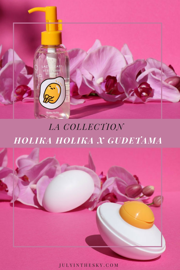 blog beauté holika holika lazy easy all kill cleanser oil to foam gudetama