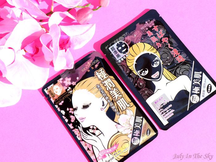 blog beauté mooni sexy look black mask intensive repairing duo lifting sakur