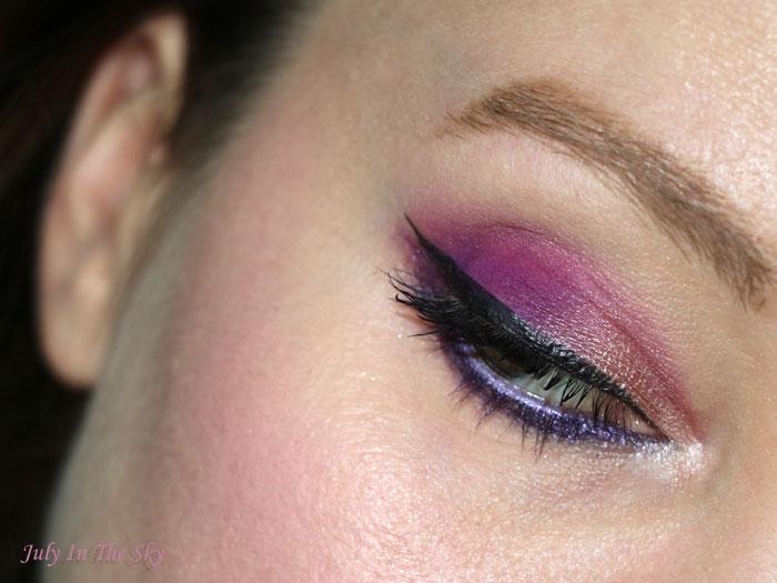 Coup de coeur pour Sugarpill : le eyeshadow pan Poison Plum