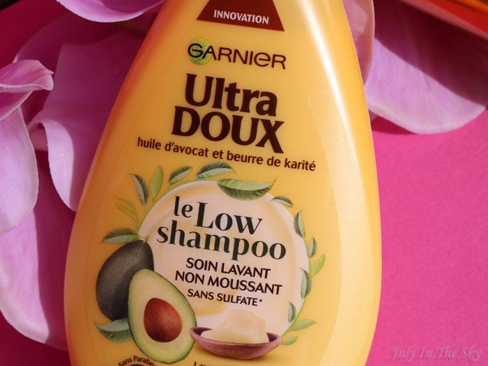 blog beauté low poo soin lavant moussant low shampoo garnier