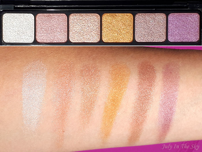 blog beauté E.L.F., eyes, lips, face, prism eyeshadow, swatch