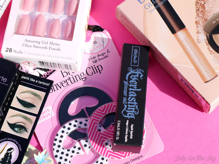blog beauté shopping USA becca kat von d Kiss Impress nars