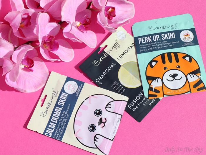 blog beauté sheet mask kbeauty The Crème Shop