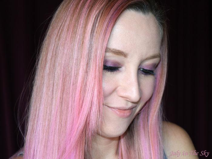 blog beauté unicorn hair pink cheveux licorne tigi