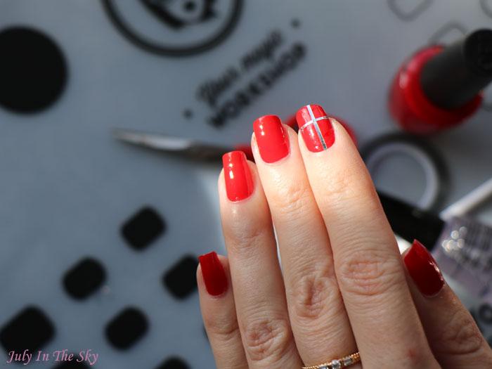 blog beauté nail-art tutoriel noël facile cadeau