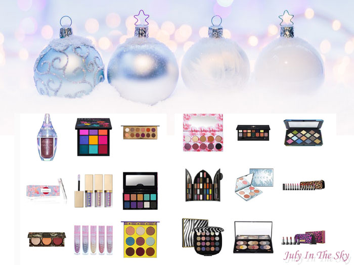 blog beauté wishlist noel marc jacobs fentu beauty huda sephora stila lime crime kat von d juvia's place anastasia beverly hills