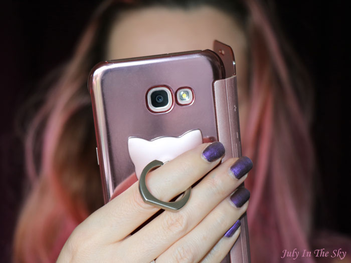 blog beauté kbeauty yestsyle Mobile Ring Cat Rose Gold