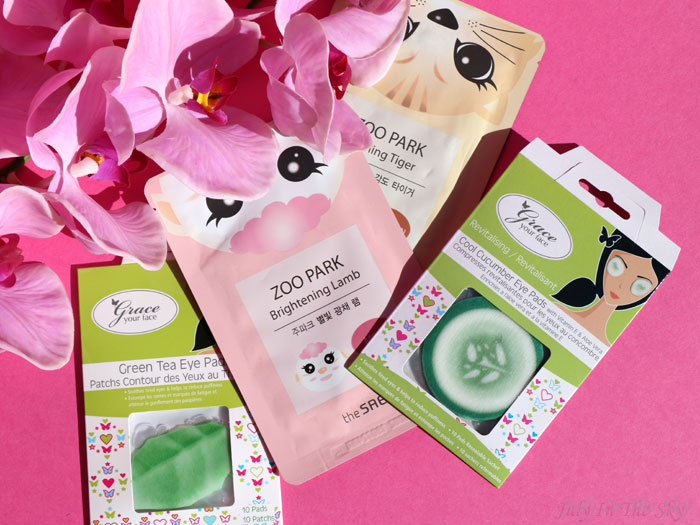 blog beauté the saem zoo park mask sheet grace your face eye patch pad