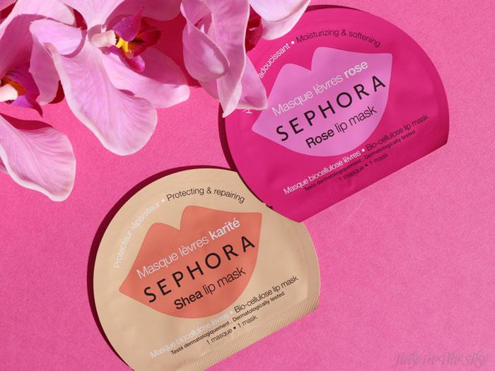 blog beauté sephora masque lèvres karité rose