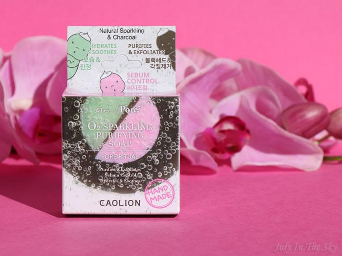 blog beauté Le Savon O2 Pétillant Purifiant Caolion avis kbeauty