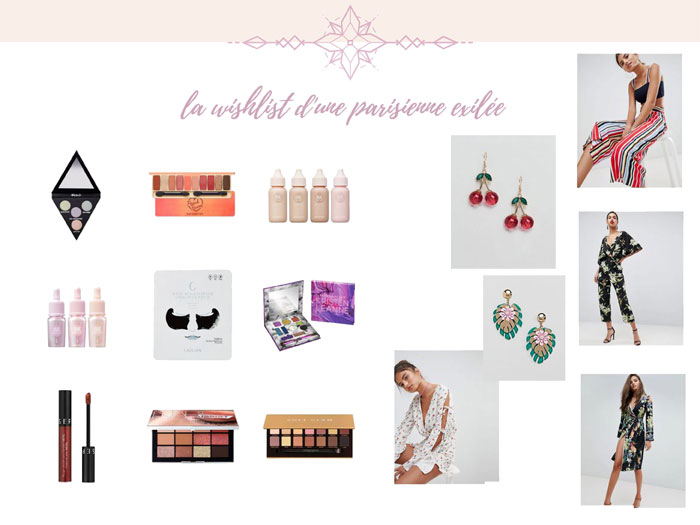 blog beauté wishlist printemps