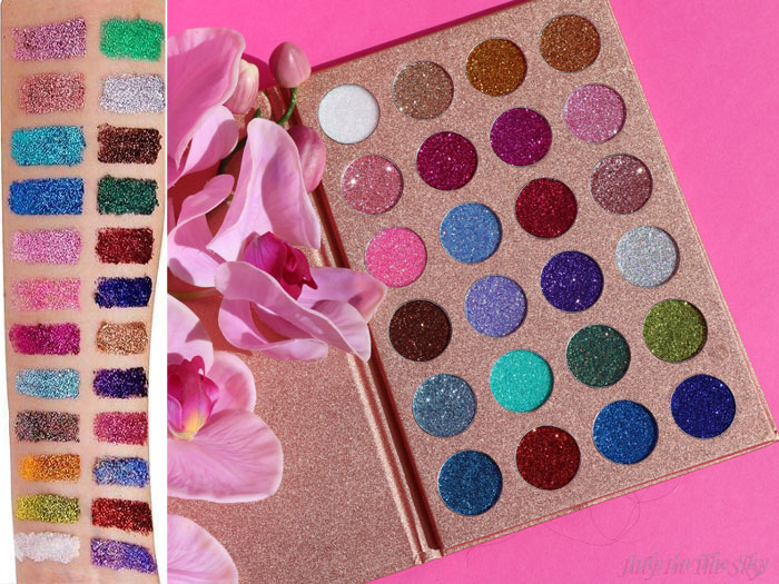 blog beauté Bomb Dot Com Palette Jolie Beauty avis swatch